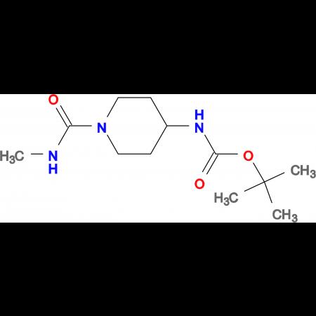 tert-Butyl 1-(methylcarbamoyl)piperidin-4-ylcarbamate