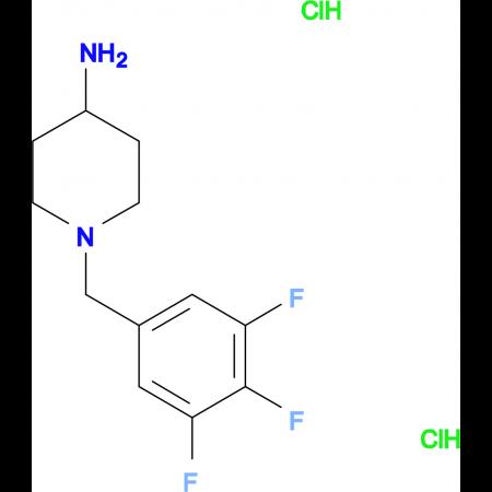 1-(3,4,5-Trifluorobenzyl)piperidin-4-amine dihydrochloride