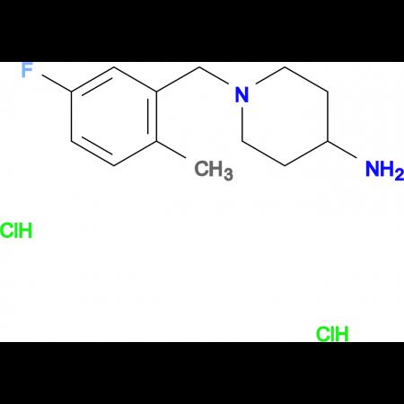 1-(5-Fluoro-2-methylbenzyl)piperidin-4-amine dihydrochloride