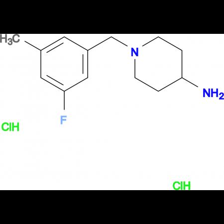 1-(3-Fluoro-5-methylbenzyl)piperidin-4-amine dihydrochloride