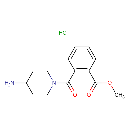 Methyl 2-(4-aminopiperidine-1-carbonyl)benzoate hydrochloride