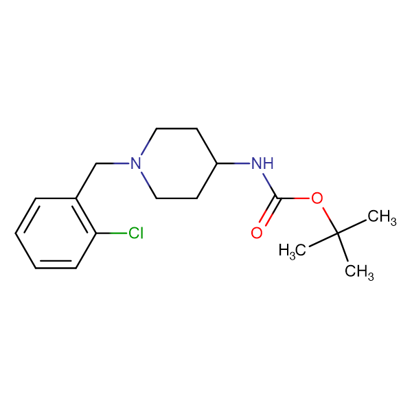 tert-Butyl 1-(2-chlorobenzyl)piperidin-4-ylcarbamate