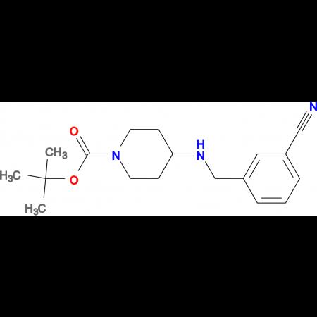 tert-Butyl 4-(3-cyanobenzylamino)piperidine-1-carboxylate