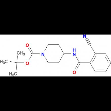 tert-Butyl 4-(2-cyanobenzoylamino)piperidine-1-carboxylate
