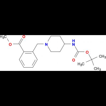Methyl 2-[4-(tert-butoxycarbonylamino)piperidin-1-yl]methylbenzoate