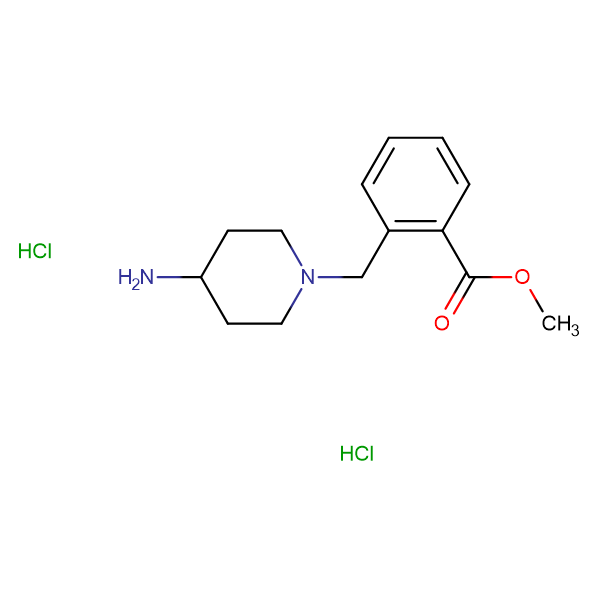 Methyl 2-[(4-aminopiperidin-1-yl)methyl]benzoate dihydrochloride