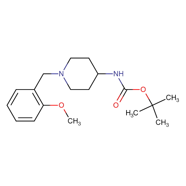 tert-Butyl 1-(2-methoxybenzyl)piperidin-4-ylcarbamate