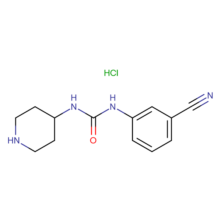 1-(3-Cyanophenyl)-3-piperidin-4-yl-ureahydrochloride