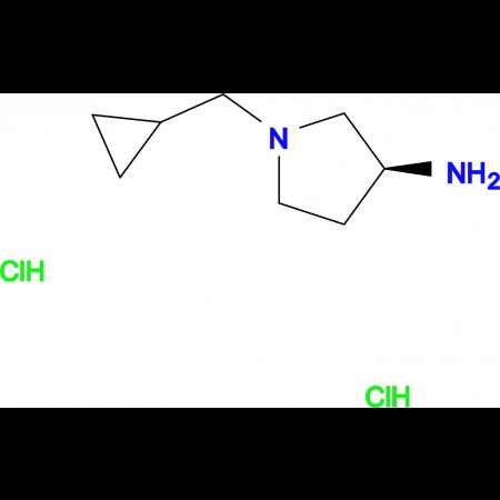 (S)-1-(Cyclopropylmethyl)pyrrolidin-3-amine dihydrochloride