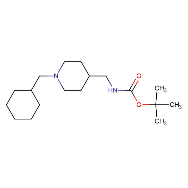 tert-Butyl[1-(cyclohexylmethyl)piperidin-4-yl]methylcarbamate
