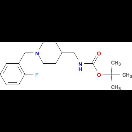 tert-Butyl[1-(2-fluorobenzyl)piperidin-4-yl]methylcarbamate