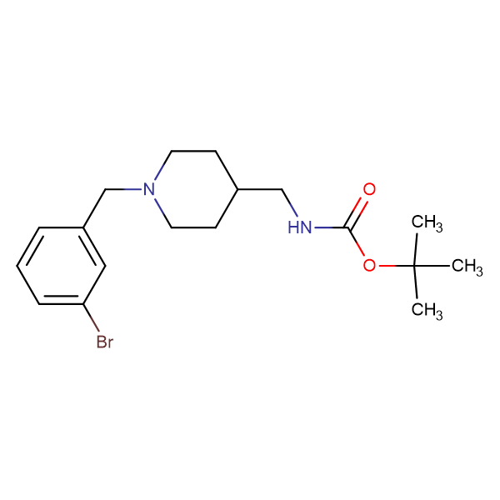 tert-Butyl[1-(3-bromobenzyl)piperidin-4-yl]methylcarbamate