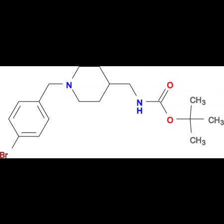 tert-Butyl[1-(4-bromobenzyl)piperidin-4-yl]methylcarbamate