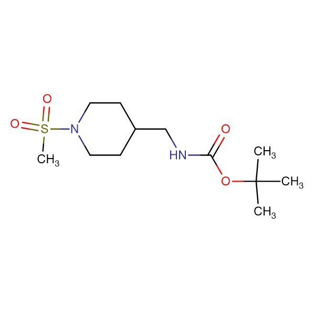 tert-Butyl k[1-(methylsulfonyl)piperidin-4-yl]methyllcarbamate