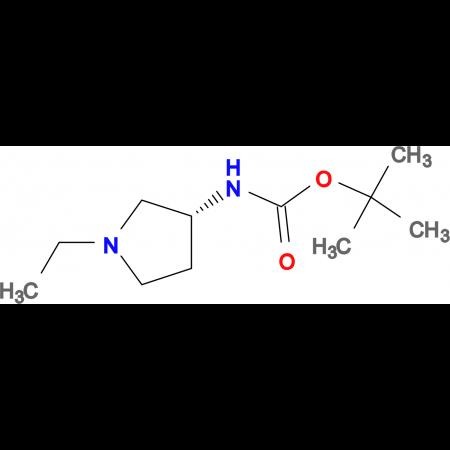 (R)-tert-Butyl 1-ethylpyrrolidin-3-ylcarbamate