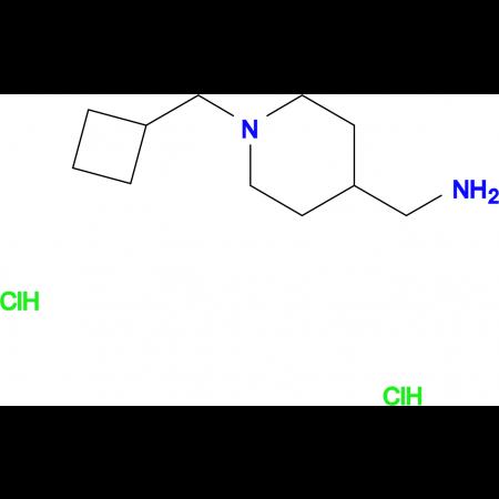 [1-(Cyclobutylmethyl)piperidin-4-yl]methanamine dihydrochloride