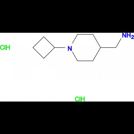 (1-Cyclobutylpiperidin-4-yl)methanaminedihydrochloride