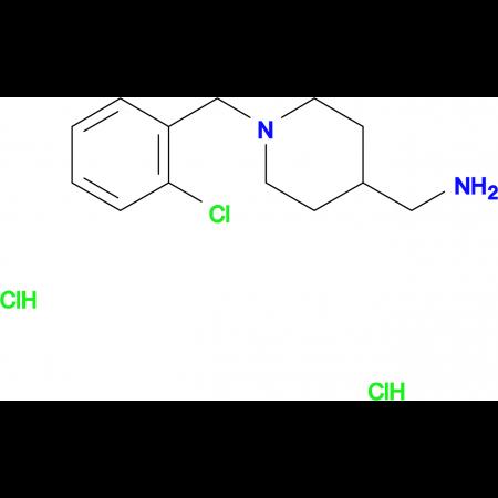 [1-(2-Chlorobenzyl)piperidin-4-yl]methanamine dihydrochloride