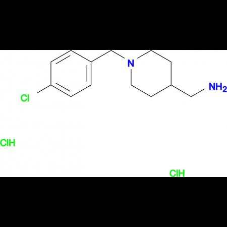 [1-(4-Chlorobenzyl)piperidin-4-yl]methanamine dihydrochloride