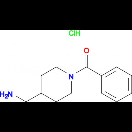 [4-(Aminomethyl)piperidin-1-yl](phenyl)methanone hydrochloride