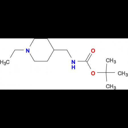 tert-Butyl [(1-ethylpiperidin-4-yl)methyl]carbamate