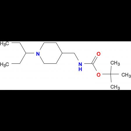 tert-Butyl k[1-(pentan-3-yl)piperidin-4-yl]methyllcarbamate