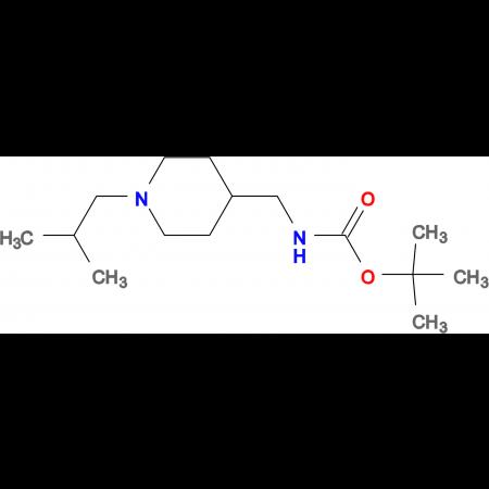 tert-Butyl [(1-isobutylpiperidin-4-yl)methyl]carbamate