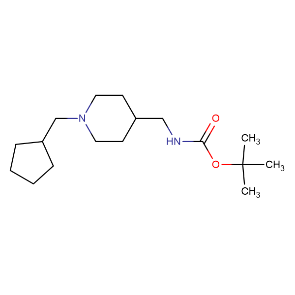 tert-Butyl [1-(cyclopentylmethyl)piperidin-4-yl]methylcarbamate