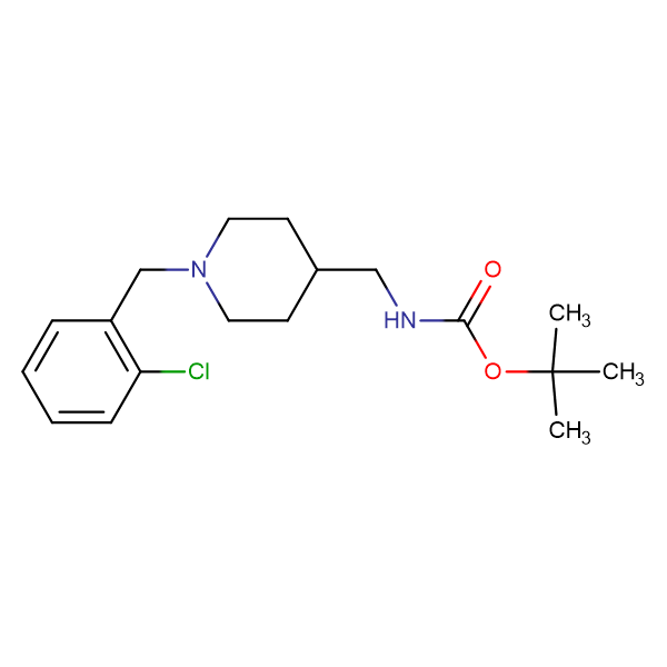 tert-Butyl [1-(2-chlorobenzyl)piperidin-4-yl]methylcarbamate