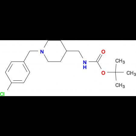 tert-Butyl [1-(4-chlorobenzyl)piperidin-4-yl]methylcarbamate