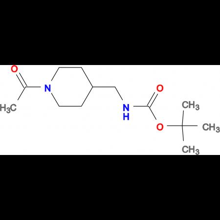 tert-Butyl [(1-acetylpiperidin-4-yl)methyl]carbamate