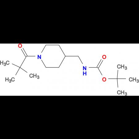 tert-Butyl [(1-pivaloylpiperidin-4-yl)methyl]carbamate