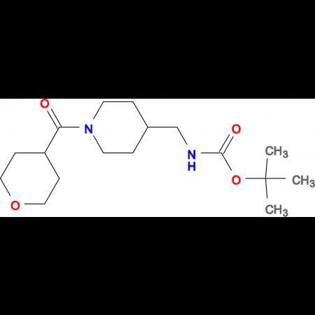 tert-Butyl [1-(tetrahydro-2H-pyran-4-carbonyl)piperidin-4-yl]methylcarbamate