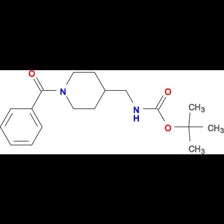 tert-Butyl [(1-benzoylpiperidin-4-yl)methyl]carbamate