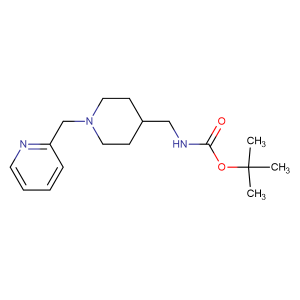 tert-Butyl [1-(pyridin-2-ylmethyl)piperidin-4-yl]methylcarbamate