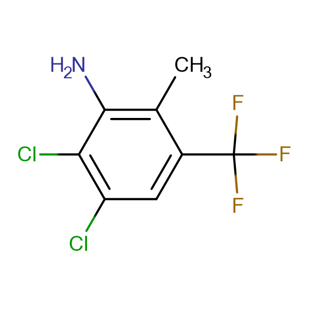 2,3-Dichloro-6-methyl-5-(trifluoromethyl)aniline