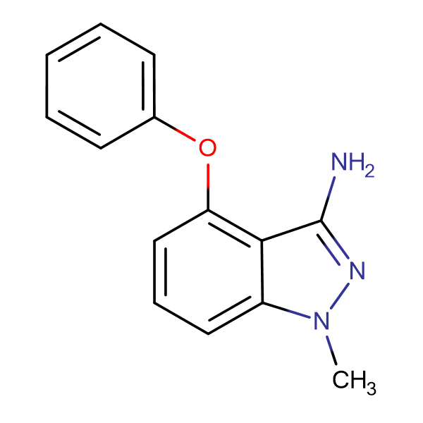 1-Methyl-4-phenoxy-1H-indazol-3-amine