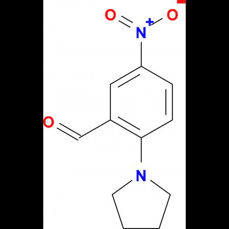5-Nitro-2-pyrrolidin-1-yl-benzaldehyde