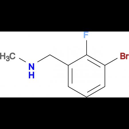 N-(3-Bromo-2-fluorobenzyl)-N-methylamine