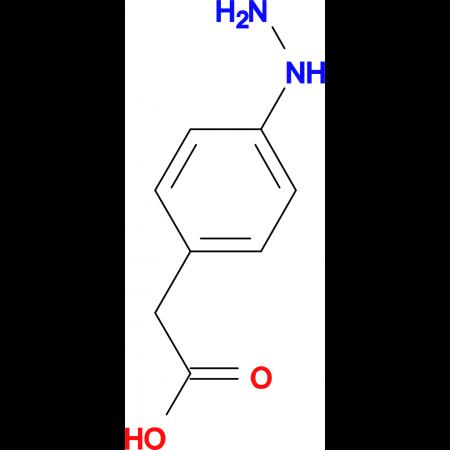 (4-Hydrazinophenyl)acetic acid