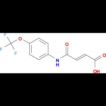 3-(N-(4-(Trifluoromethoxy)phenyl)carbamoyl)prop-2-enoic acid