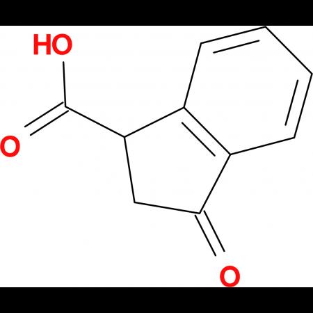 3-Oxoindane-1-carboxylic acid