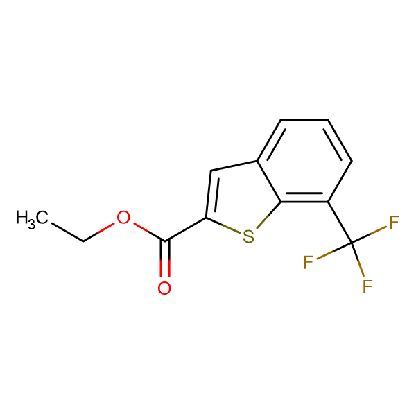 Ethyl 7-(Trifluoromethyl)-1-benzothiophene-2-carboxylate