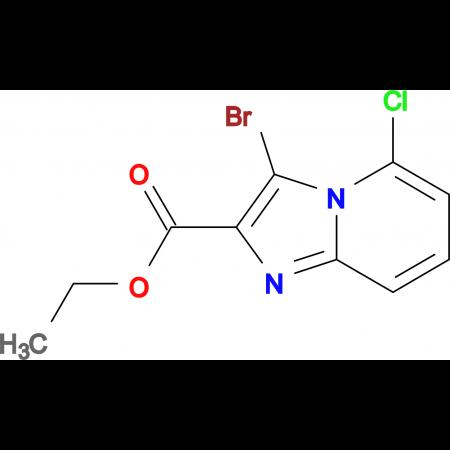Ethyl 3-Bromo-5-chloroimidazo[1,2-a]pyridine-2-carboxylate