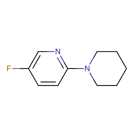 1-(5-Fluoropyridin-2-yl)piperidine
