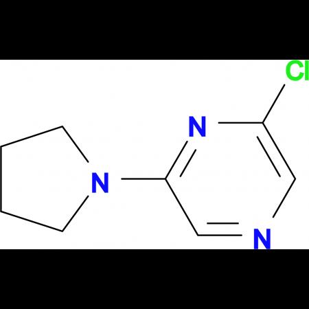 2-Chloro-6-pyrrolidin-1-ylpyrazine