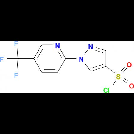 1-[5-(Trifluoromethyl)pyridin-2-yl]-1H-pyrazole-4-sulphonyl chloride