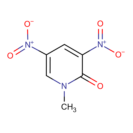 1-Methyl-3,5-dinitropyridin-2(1H)-one