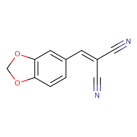 (Benzo[3,4-d]1,3-dioxolan-5-ylmethylene)methane-1,1-dicarbonitrile