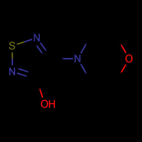 4-Morpholin-4-yl-1,2,5-thiadiazol-3-ol